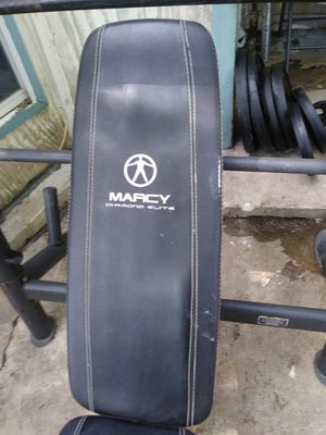 Weights Olympic Bench barbell for Sale in San Antonio, TX