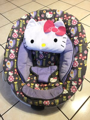 Hello kitty bouncer for Sale in Fontana, CA