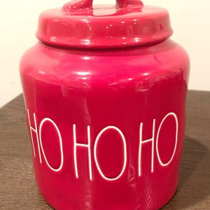 RAE DUNN HOHOHO CANISTER for Sale in Wantagh, NY