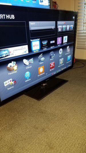 "46""Samsung Led Smart TV HD 1080p clear motion 120hz model is UN46D6400 for Sale in San Jose, CA"