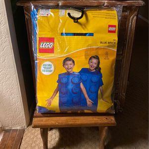 Lego Costume Blue Brick Size Large 10/12 for Sale in Rialto, CA
