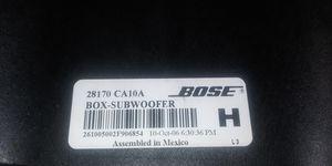 BOSE BOX-SUBWOOFER for Sale in Phoenix, AZ