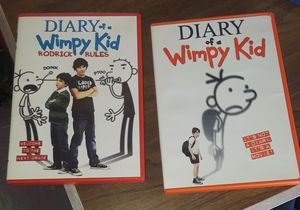 Diary of a Wimpy kid DVDS price is for all for Sale in Virginia Beach, VA