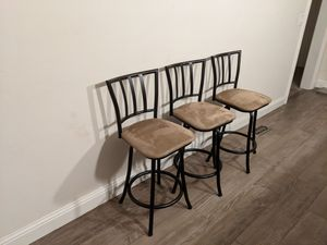 Bar stools for Sale in San Mateo, CA
