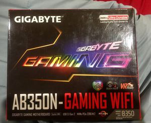 GIGABYTE GA-AB350 -GAMING WIFI MOTHER BOARD for Sale in Los Angeles, CA