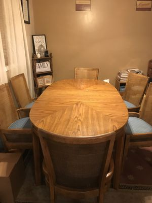 Dining room table w/6 chairs for Sale in Silver Spring, MD