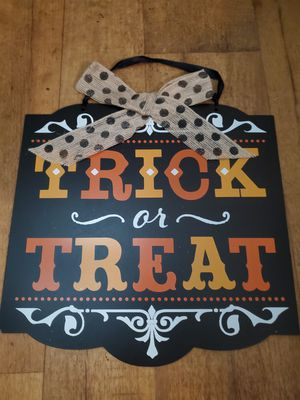 Halloween Sign for Sale in Travelers Rest, SC