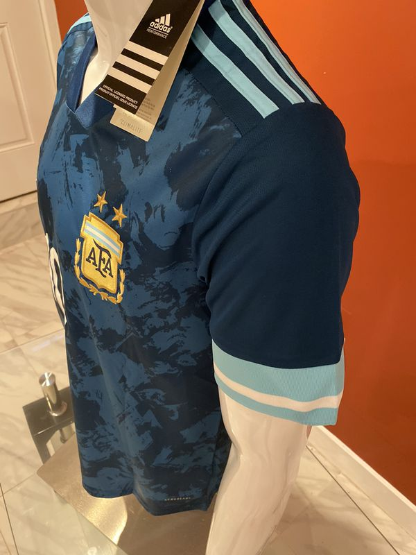 Lionel Messi Argentina #10 New Jersey soccer 2020