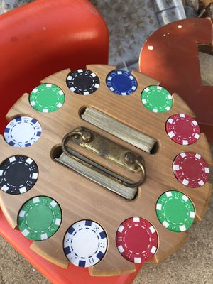Poker chips for Sale in Washington, IL
