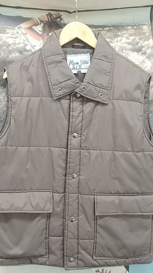 Vintage 80's Sears Puffy Vest 2 pocket for Sale in Tacoma, WA