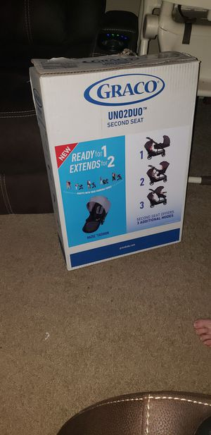 Graco Uno2duo second SEAT not the stroller for Sale in Houston, TX