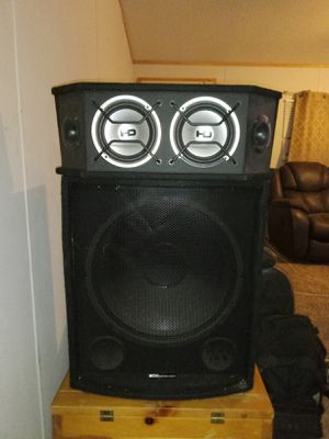 Mcm pro audio DJ // PA 18'subwoofer for Sale in Lubbock, TX