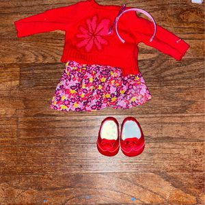 American Girl Flower Sweater & Skirt for Sale in San Rafael, CA