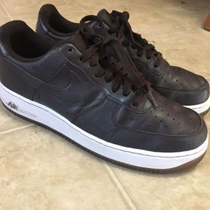 Brown Air Force 1s Size 10 for Sale in Avocado Heights, CA