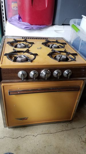Camper rv stove oven range for Sale in Puyallup, WA