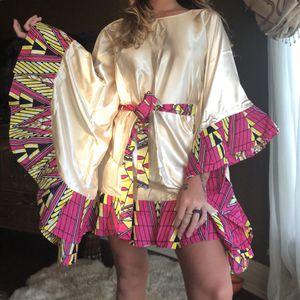 Beautiful Handmade Dress Satin Small for Sale in Hilo, HI