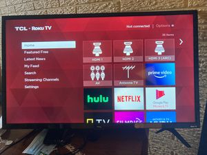 TCL ROKU TV for Sale in Decatur, GA