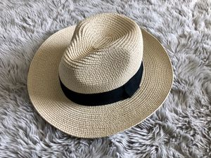 Summer Cuban-style Woven Fedora with Black Band for Sale in Stockton, CA