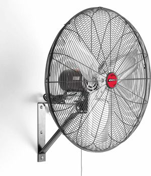 """OEM TOOLS OEMTOOLS OEM24884 30 Inch High-Velocity Oscillating Wall Mount Fan, 30"""", Black for Sale in Henderson, NV"""
