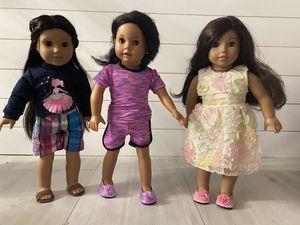 American Girl Dolls - three dolls for Sale in Miramar, FL