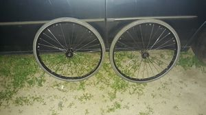 """24"""" Bike Trailer rims / solid tires don't need air for Sale in Placentia, CA"""