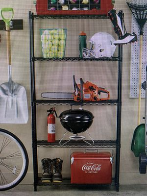 Garage shelving unit Black for Sale in Vancouver, WA