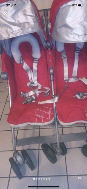 Maclaren twin stroller for Sale in Azusa, CA