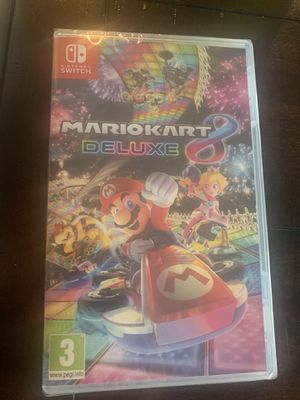 (READ DESCRIPTION) Brand New Mario Kart 8 Deluxe Game Unopened/ Unused for Sale in North Las Vegas, NV
