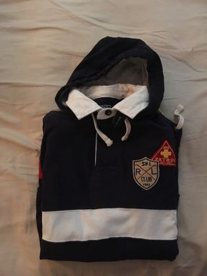Ralph Lauren polo sport vintage ski jacket hoodie pull over for Sale in Boston, MA