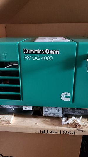 CUMMINS Onan RV QG 4000 for Sale in Niwot, CO