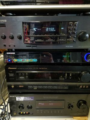 Stereo receivers for Sale in San Jose, CA