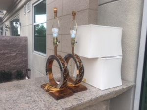 $40 each.Decorative lamps with shades. Make an offer.l will get back to you asap. Pick up only. for Sale in Las Vegas, NV