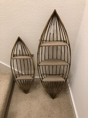 Wall shelves, set of 2 for Sale in Newport Beach, CA