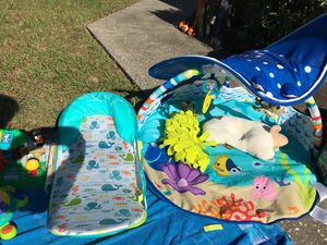 Baby play mat and toys for Sale in Apopka, FL