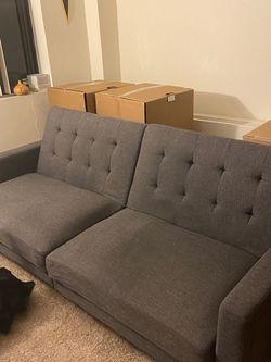 Gray Futon for Sale in Arlington,  VA
