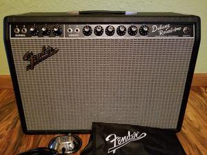 """Fender'65 Deluxe Reverb 22-watt 1x12"""" Tube Combo Amp - Black - Like New! for Sale in Woodburn, OR"""