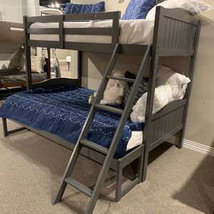 Twin / Twin or Twin / Full Bunk Bed Frame - BRAND NEW - Mattress Options Available for Sale in Martinez, CA