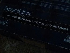 Box of 7200 roofing coils for Sale in Cleveland, OH