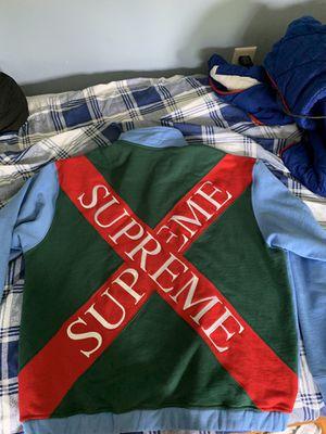 Supreme Cross Logo Half Zip for Sale in Easton, CT