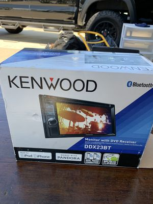 Kenwood Stereo with DVD Receiver for Sale in Chula Vista, CA