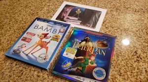 Anniversary Edition Bambi & Peter Pan for Sale in Las Vegas, NV
