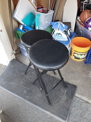 Foldable bar stools for Sale in Clovis, CA