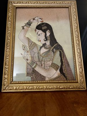 Vintage Bani Thani Reverse Glass Painting for Sale in Chandler, AZ