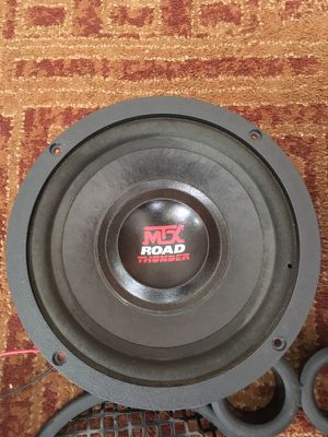 "MTX AUDIO 10"" ROAD THUNDER 8OHM REPLACEMENT SPEAKER 2-Speakers Used Good Condition for Sale in Chicago, IL"