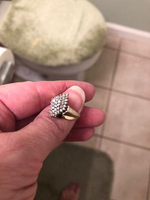 Very beautiful sparkling diamond ring for Sale in Antioch, CA