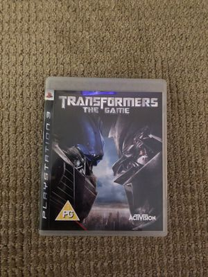 Transformers the game ps3 for Sale in Escondido, CA
