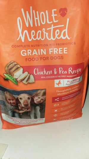 Whole hearted dog food for Sale in Orange, TX