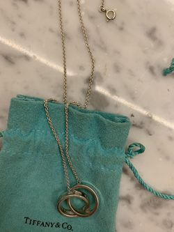 Tiffany & Co ring necklace for Sale in Redlands,  CA