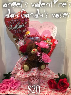 ❤️ valentine's Day Candy's Vases ❤️ for Sale for sale  Brooklyn, NY