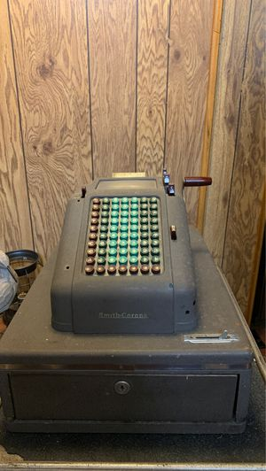Vintage smith-Corona cash register for Sale in Parma, OH
